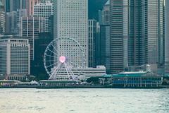 The Hong Kong Observation Wheel (taharaja) Tags: asia boars bridges budhist china concretejungle ferriswheelrenaissancehotel harbor harbour honglomg kowloon port seafood seafront ships starferry sunrise sunset temple victoriaharbor victoriapeak skyline skyscraper
