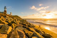 Embrace the ocean and the sun (^Baobab^) Tags: sonya7riiwithefmountlens sonya7r2 withmytamron tamronsp1530 tamronusa longisland montauk lighthouse atlanticocean surf sunrise wave excercise newyorkstate