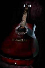 Light painting (mickreynolds) Tags: longexposure 30mmprime love guitar nx500