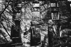 Talysarn Hall (ShrubMonkey (Julian Heritage)) Tags: talysarn hall dorothea quarry nantlle house slate disused derelict abandoned forgotten ruin ruined eerie landscape wales building secluded isolation mountains snowdonia sonyalpha dark creepy shell architecture