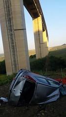 Grave incidente sul viadotto Belice