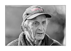 The Farmer (Aberdeenshire) Publican BW_L7Q0100 (The Terry Eve Archive) Tags: robert farmer publican malting fleece blackandwhite bw monochrome red selectivecolour