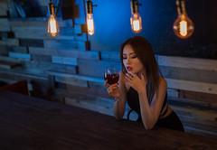 Before midnight (Shane Devlin Photography) Tags: portrait beauty dramatic gels lowkey model asian girl