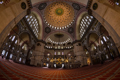whole world under a dome / light, more light (Özgür Gürgey) Tags: flickrfriday hdr 12mm 2017 d750 nikon samyang süleymaniye architecture dome mosque istanbul turkey