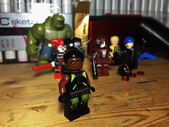 Hack (LordAllo) Tags: lego dc hack suicide squad rebirth harley quinn katana deadshot captain boomerang rick flag killer croc slipknot