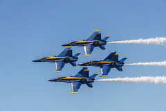 U.S. Navy Blue Angels (pdebree) Tags: airshow plane airplane aircraft aeroplane flight fly flying flown flew flies jet military militaryjet militaryplane stunt stuntplane aerialacrobatics aerobaticaircraft blue angels blueangels angel blueangel f18 fa18 fa18hornet hornet f18hornet navy usn usnavy usa
