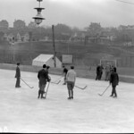 Hockey rink on Edmonton flats thumbnail