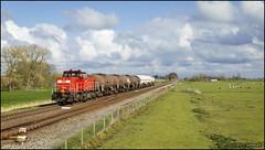 18 april 2017 - DBC 6416 - Adorp (EnricoSchreurs) Tags: dbc db cargo 6400 6416 62312 ketels trein train zug railway spoor track groningen onnen delfzijl adorp nederland netherlands april 2017 canon eos 6d