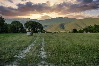 Abruzzo's countryside