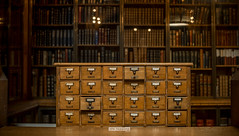 The John Rylands Library (stetoppingphoto) Tags: john rylands library victorian architecture church cathedral style listed building beautiful cabinet woodwork drawers furniture filing shakespeare gothic