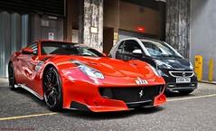 Ferrari F12tdf (Jack de Gier) Tags: ferrari f12 tdf london uk knightsbridge millenniumhotel sloanestreet horsepower exotic luxury speed v12 engine italy limited 3xx red supercar sportscar worldcar pzero