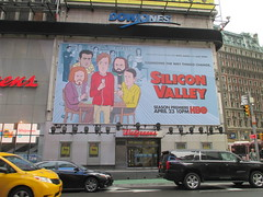 Silicon Valley HBO Show Billboard Times Square NYC 4646 (Brechtbug) Tags: silicon valley hbo show bus billboard springtime new york 2017 april 04202017 taxi cab sunny 42nd street 7th ave number one times square nyc pedestrians avenue st commuting shows billboards graphic novel artist daniel clowes illustration looks great art technology fueling station electricity power cartoon caricature cartoons