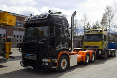 "Scania R II "" ELEMENT OG SPECIALTRANSPORT AS "" (N) (magicv8m) Tags: tir trans transport lkw scania r element og specialtransport as n"