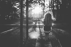 End of day rim light (austinsGG) Tags: girl bw rimlight freelensed movement swings faceless