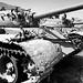 Pentax 645N Ilford HP5+ Afghanistan Russian armor
