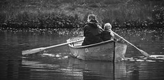 Childhood days remembered (hobbes_s2001) Tags: boat bond childhood father happiness joy lake love memories oar pond rowing son sunday togetherness weekend