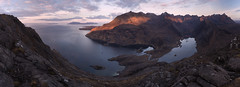 Alone with Immensity (J McSporran) Tags: scotland highlands westhighlands skye isleofskye cuillins blackcuillins lochcoruisk lochscavaig innerhebrides rum eigg soay landscape sgurrnastri canon6d ef1635mmf4lisusm