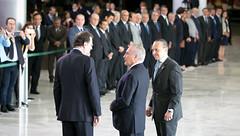 Cerimônia Oficial de Chegada do Presidente da Espanha, Mariano Rajoy - 24/04/2017 (mdic.gov.br) Tags: michel temer mdic cerimônia oficial presidente espanha mariano rajoy