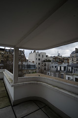Maisons La Roche et Jeanneret (Fotorob) Tags: nieuwebouwen woningenenwoningbcomplx lecorbusier eengezinswoning frankrijk architecture geschakeldewoning îledefrance stijl france paris architectura architectuur