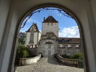 Switzerland - Oberhofen castle