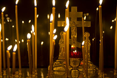 Candles (D.Boyarrin) Tags: light people church easter temple gold icons candles christ cathedral russia glory prayer crowd celebration monastery crucifix mass alter priests resurrection servise пасха служба zadonsk литургия задонск всенощная easter2013 russianortodoxal