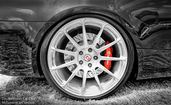 BMW M5, Brembo Braks, HRE Wheels (Millionaire Car Club) Tags: auto car wheel lights performance tires bmw brakes m3 m6 m5 carshow vmr brembo caliper bimmerfest eibach