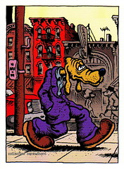 R. Crumb Trading Cards - Dirty Dog (oerendhard1) Tags: dog art robert illustration comics underground cards comic drawing humor cartoon dirty collection trading comix characters crumb rcrumb stripverhaal undergroundcomics stripfiguur oerendhard