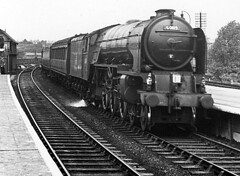 Grantham A1 60119 Patrick Stirling up ex pass c1952 JVol6061 (DavidWF2009) Tags: a1 grantham 60119 patrickstirling