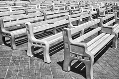 DSCF6868 (RHMImages) Tags: blackandwhite bw fuji fair fujifilm benches countyfair contracostacounty x100s