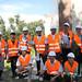 Volunteer disaster response teams in South Kazakhstan, Syryrmbet village