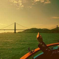 The Golden Gate Bridge.... San Francisco. (raj singh arora) Tags: square squareformat lordkelvin iphoneography instagramapp uploaded:by=instagram
