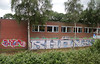 trackside graffiti (wojofoto) Tags: holland graffiti gator nederland railway netherland rails spoor rhone trackside spoorweg wojofoto