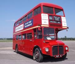 Test Bed Routemaster (PD3.) Tags: park bus london buses vintage way north transport central royal 8 railway merlin routemaster preserved essex epping lt airfield psv pcv aerodrome rm vlt weald aec 396 ongar rm8 vlt8 northwealdessex nlts wealdnorth