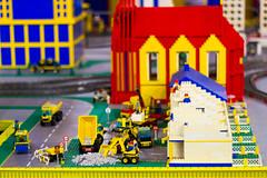 Lego Brick City - Niagara Falls (pylacroix) Tags: summer ontario brick niagarafalls lego block t bloc cliftonhill brickcity 2013