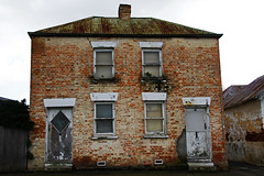 pre-modernism (keith midson) Tags: old urban house architecture decay townhouse victorian tasmania deterioration newnorfolk