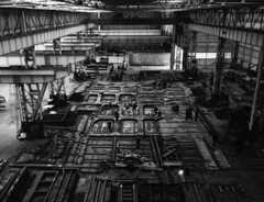 Hawthorn Leslie Sub Assembly (Tyne & Wear Archives & Museums) Tags: ships shipyard shipbuilding