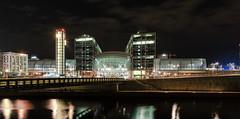 Berlin - Hauptbahnhof - 2013 (avda-foto) Tags: berlin station night nacht central hauptbahnhof 2013