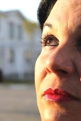 ~Jennir Narvez (TheJennire) Tags: camera light woman brown sun eye luz sol face canon hair mom nose photography photo mujer eyes flickr foto mulher makeup olhos maquiagem ojos olho lipstick fotografia camara maquillaje tumblr