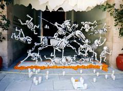 """Cervantino """"El Quijote"""" en La Alóndiga (El Volador S.A.) Tags: mexico quijote posada ofrendas volador cartoneria elvolador"""