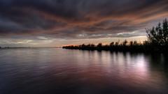 Sunset Heegermeer (PortSite) Tags: camping sunset holland netherlands night zonsondergang nikon cloudy nederland paysbas friesland landschap portsite heeg heegermeer 2013 d3s hegemermar lânenmar