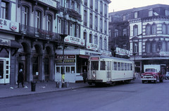 Once upon a time - Belgium - Mons / Bergen (railasia) Tags: belgium wallonia mons bergen nmvbsncv grouphainault interurban metergauge motorcar infra singletrack stationsquare sixties