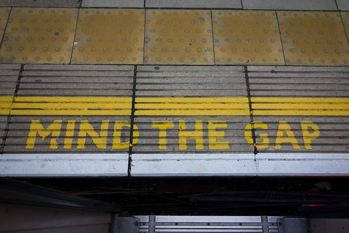 MIND THE GAP - Epping [3/3] by christopher_brown, on Flickr