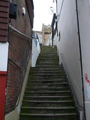 Steep Steps (the justified sinner) Tags: stone kent alley creative panasonic step quarter 20mm steep folkestone f17 gx7 justifiedsinner