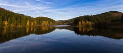 Reflections of Autumn (Foto-Wandern.com) Tags: vacation holiday fall tourism germany deutschland hiking urlaub herbst recreation relaxation wandern harz tourismus erholung wandernadel harzbilder fotowandern
