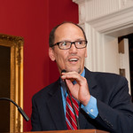 Governor Host Tom Perez Reception