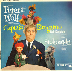 Peter And The Wolf (Jim Ed Blanchard) Tags: strange television vintage children weird store tv funny wolf puppet album vinyl peter novelty jacket thrift cover kangaroo captain ugly record sleeve kooky prokofiev stowkowski