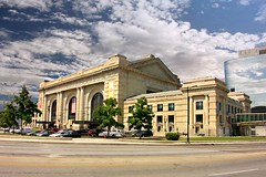 Kansas City Mo ~ Union Station  ~ Museum Attraction (Onasill) Tags: city sky irish station museum clouds creativity for dance theater stage union arts center science amtrak missouri kansas block todd kc hr cultural refection stn beaux rrd arctitecture bolender sattion onasill