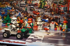 Stormies visit Advent-Land (LynG67) Tags: december advent lego stormtrooper minifigs minifigures 2013