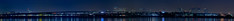 carbon dioxide in color (pbo31) Tags: california winter color fog skyline night oakland smog nikon highway downtown december large panoramic bayarea eastbay d200 80 emeryville stitched interchange carbondioxide 880 580 lightstream 2013
