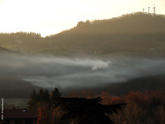 Smoke (Paolo Bonassin) Tags: italy smoke fumo atmospherics zolapredosa ©paolobonassin
